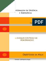 Aula 04 - Choque - Controle de Hemorragias