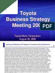 Toyota Strategy