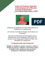 """Comunicación sin Fronteras. Descubre Poderosas Herramientas de la PNL para Relacionarte Exitosamente"""