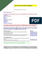 National Geological Surveys of the World database V3c 081207