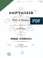 Carulli - Fantasia for Flute, Guitar (Op337)