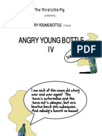 Angry young bottle