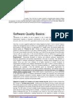 Software Quality Basics