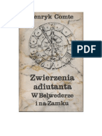 Henryk Comte - Zwierzenia adiutanta W Belwederze i na Zamku – 1976 (zorg)