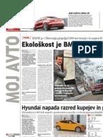 Ekološkost je BMW pripeljala v Slovenijo