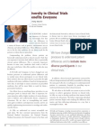 Diversity Journal | Diversity in Clinical Trials Benefits Everyone - Mar/Apr 2010