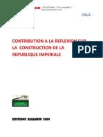 Contribution à la Construction de la République Impériale