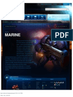 Marine-Unit Description - Game - StarCraft II