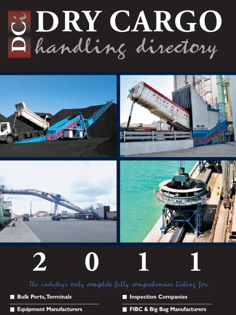 DCI Yearbook 2011 | Crane (Machine) | Port