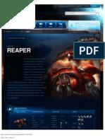 Reaper-Unit Description - Game - StarCraft II