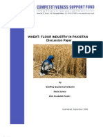 Discussion Paper on the Wheat-Flour Industry in Pakistan