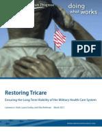 Restoring Tricare