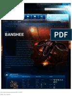 Banshee-Unit Description - Game - StarCraft II