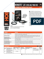 Spec Sheet - Stickmate LX 235 AC/DC