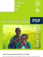 AfricaRice Annual Report 2001-2002