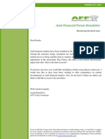 AFF Newsletter February 2011 ISSUE I