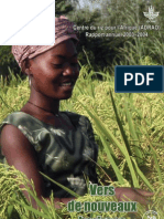 AfricaRice Rapport annuel 2003-2004