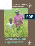 AfricaRice Rapport annuel 2004-2005