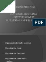 exposicion org formal,informal,lineal