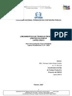 Lineamientosproyecto Pnfcp 2020 II (1)