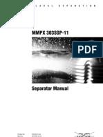 ALFA LAVAL Separation Manual MMPX303SGP