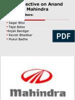 Mahindra &Mahindra PPT