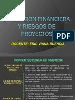 EVALUACION FINANCIERA Y RIESGOS DE PROYECTOS