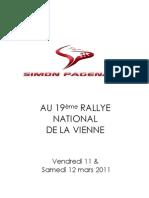 Dossier Presse Simon Pagenaud Rallye de La Vienne[1]
