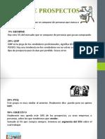 tipos de prospectos y proceso de venta / Edgar Rafael Torres De León