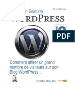 Optimisation d'un blog Wordpress