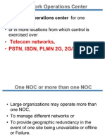 Responsibilities of NOC
