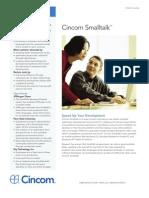 Speed Up Your Development with Cincom Smalltalk