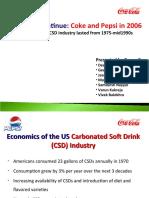 cola wars porter five forces