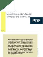 HPE 321 - Mental Retardation ppt