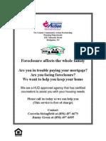 Foreclosure Flyer Feb. 2011