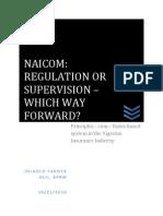Regulation or Supervision?