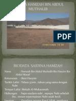 SAIDINA HAMZAH BIN ABDUL MUTHALIB