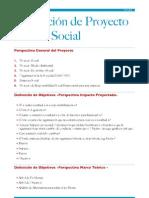 Planeación de proyecto -incuba social