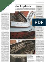 El Beti-Jai se salva del pelotazo (El País 28/02/2011)