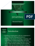 Staffing]