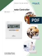Fujitsu AR3TA13 Wired Remote Brochure