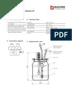 300P9010118e Leckage Oil Pump Hydro