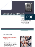 Ethics Of Euthanasia