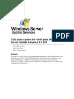 Manual de configuracion WSUS
