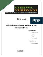 job trainig