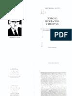 Hayek, F. Derecho, legislación y libertad