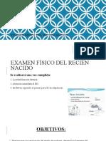 1- Examen Fisico Del RN Medidas Antropometricas