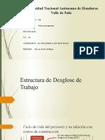 Estructura de Desglose de Trabajo