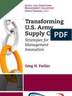 Transforming U.S. Army Supply Chains