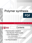 Wk 3 - Polymer synthesis